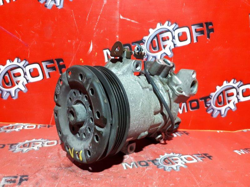 Компрессор кондиционера Toyota Succeed NCP58G 1NZ-FE 2002 (б/у)