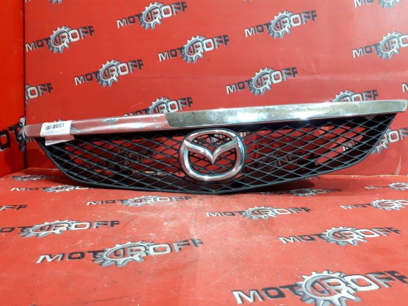 Решетка радиатора Mazda Familia BJ5P ZL-DE 2000 (б/у)