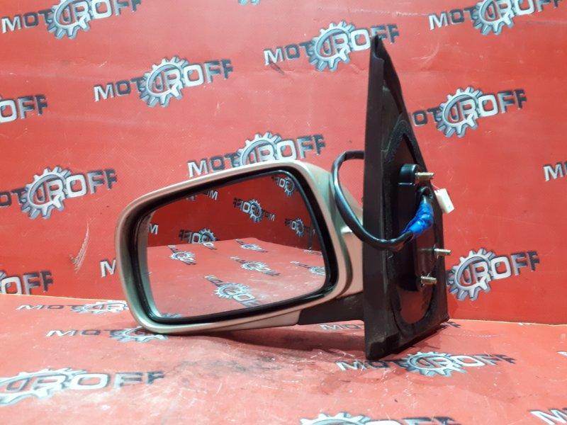 Зеркало боковое Toyota Vitz NCP15 2NZ-FE 1999 левое (б/у)