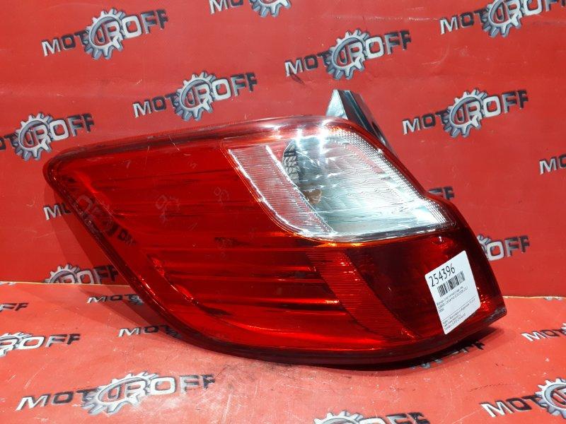 Фонарь (стоп-сигнал) Subaru Exiga YA5 EJ20 2008 задний левый (б/у)