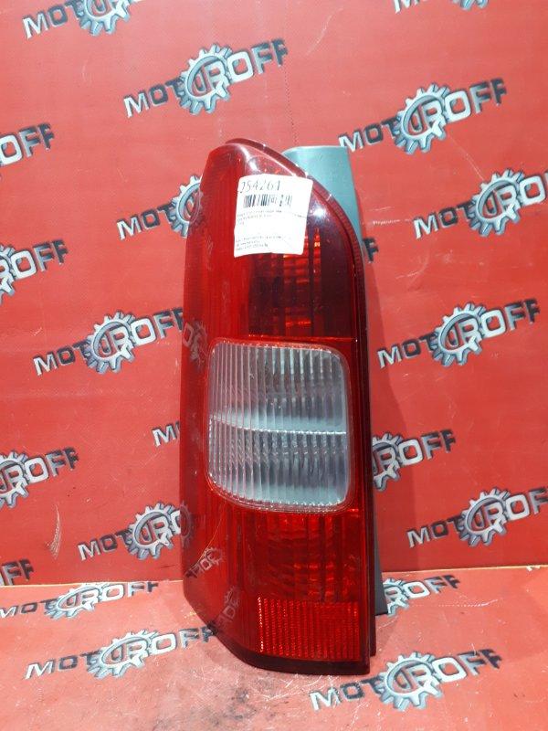 Фонарь (стоп-сигнал) Toyota Probox NCP50V 2NZ-FE 2002 задний левый (б/у)