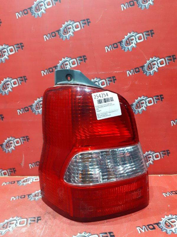 Фонарь (стоп-сигнал) Mazda Demio DW3W B3 1999 задний левый (б/у)