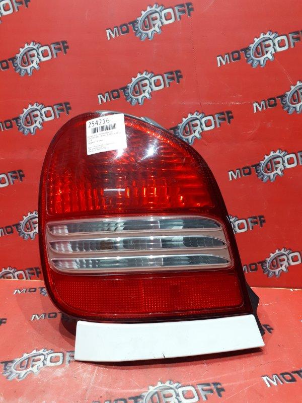 Фонарь (стоп-сигнал) Toyota Corolla Spacio AE111N 4A-FE 1999 задний левый (б/у)