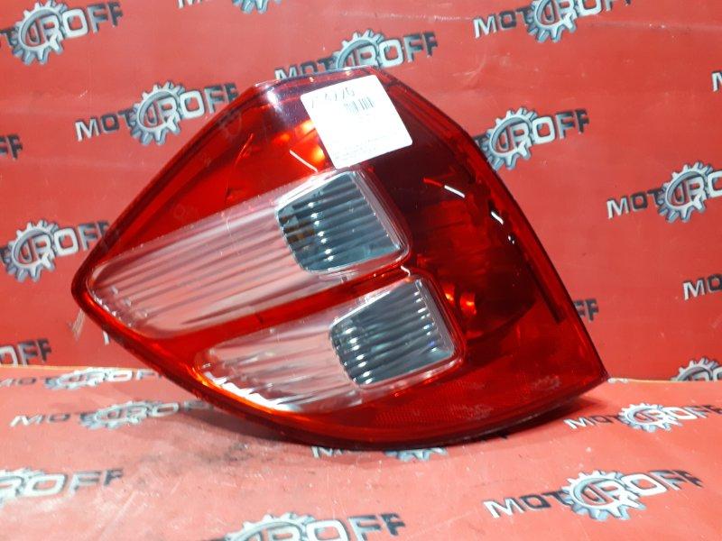 Фонарь (стоп-сигнал) Honda Fit GE6 L13A 2007 задний левый (б/у)