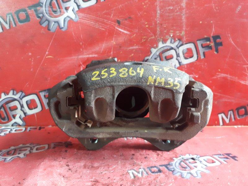 Суппорт Nissan Stagea M35 VQ25DD 2001 передний правый (б/у)