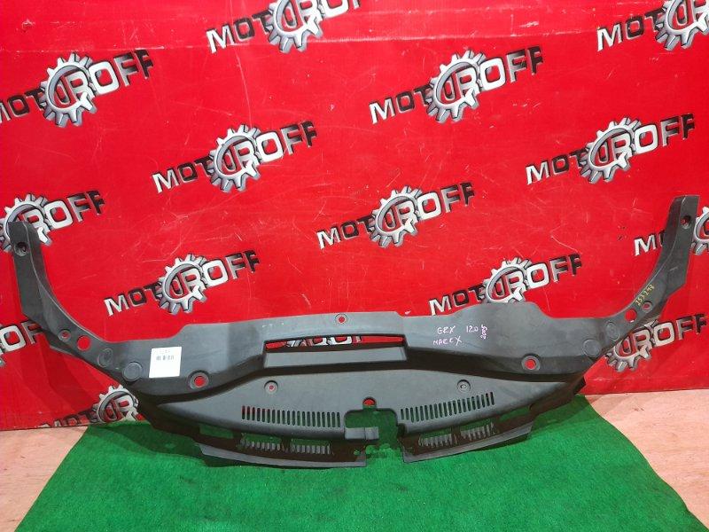 Накладка на решетку радиатора Toyota Mark X GRX120 4GR-FSE 2004 (б/у)