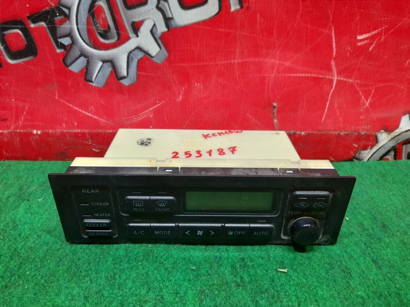 Блок управления климат-контролем Toyota Grand Hiace KCH10W 1KZ-TE 1999 (б/у)