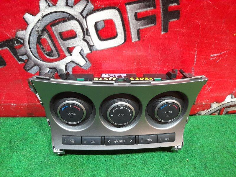 Блок управления климат-контролем Mazda Axela BL5FP ZY-VE 2009 (б/у)