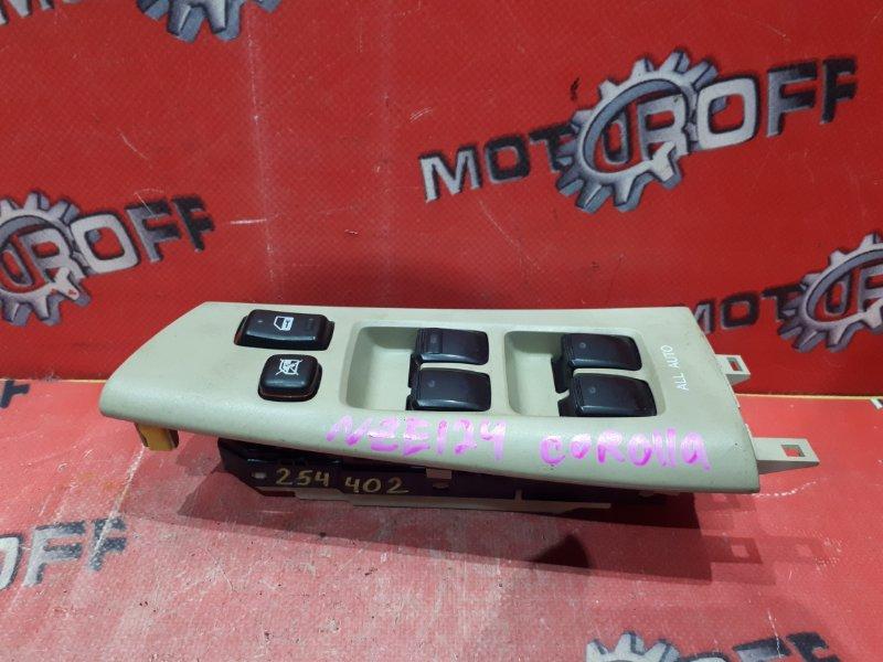Блок управления стеклоподъемниками Toyota Corolla NZE124 1NZ-FE 2000 правый (б/у)