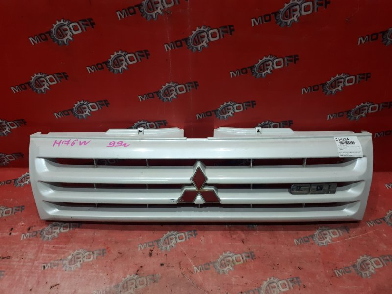 Решетка радиатора Mitsubishi Pajero Io H76W 4G93 1998 (б/у)