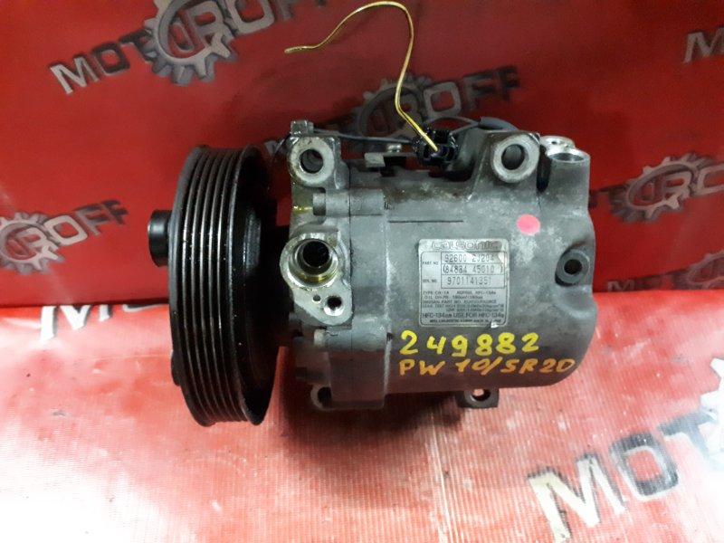 Компрессор кондиционера Nissan Avenir PW10 SR20DE 1990 (б/у)