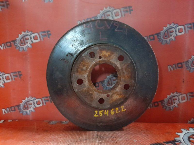 Диск тормозной Toyota Mark Ii Qualis MCV21W 2MZ-FE 1997 передний (б/у)