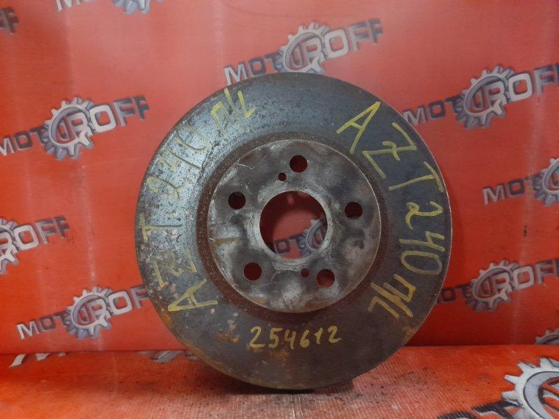 Диск тормозной Toyota Allion AZT240 1AZ-FSE 2001 передний (б/у)