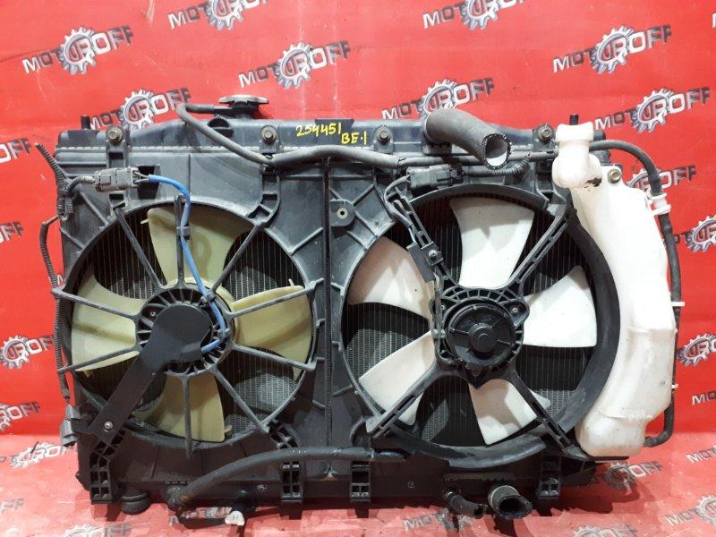 Радиатор двигателя Honda Edix BE1 D17A 2004 (б/у)
