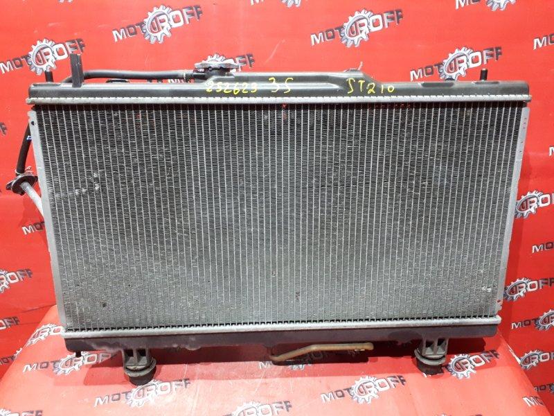 Радиатор двигателя Toyota Carina ST210 3S-FE 1996 (б/у)