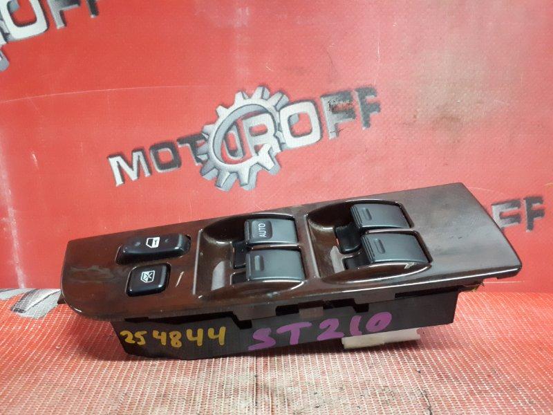 Блок управления стеклоподъемниками Toyota Corona Premio ST210 3S-FSE 1996 правый (б/у)