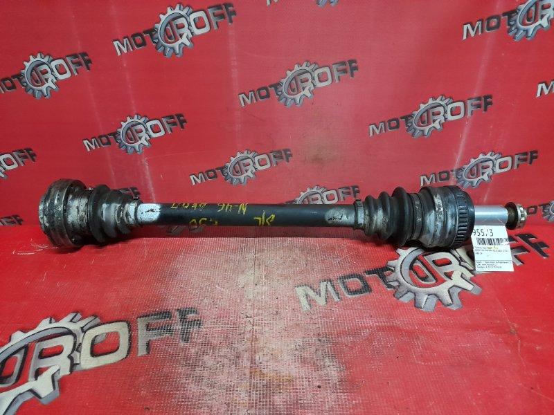 Привод Bmw 318 E90 N46 B20 2005 задний левый (б/у)