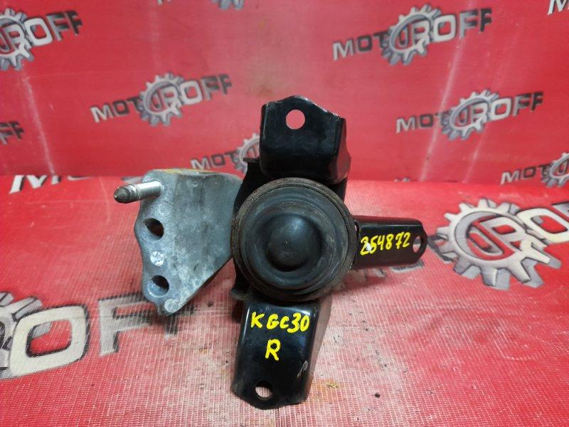 Подушка двигателя Toyota Passo KGC30 1KR-FE 2010 правая (б/у)
