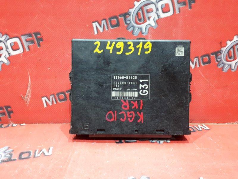 Компьютер (блок управления) Toyota Passo KGC10 1KR-FE 2004 (б/у)