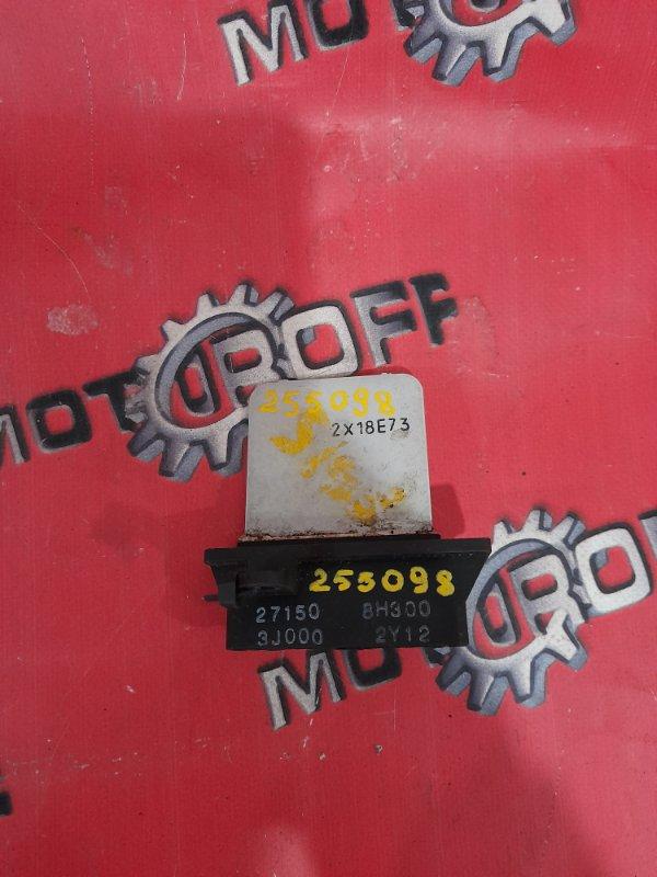 Реостат печки Nissan Sunny FB15 QG15DE 1998 (б/у)