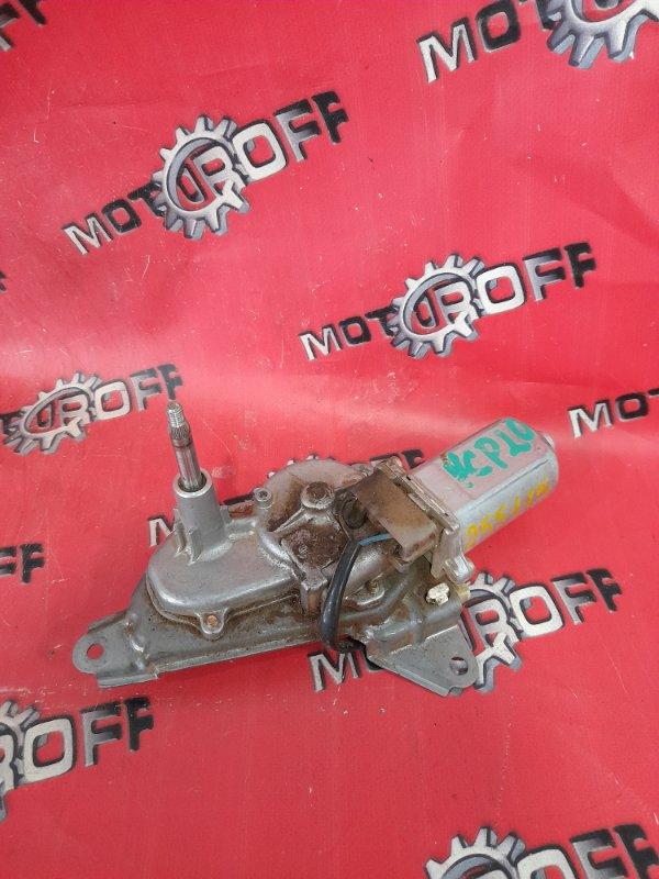 Привод (мотор) стеклоочистителей Toyota Funcargo NCP20 2NZ-FE 1999 задний (б/у)