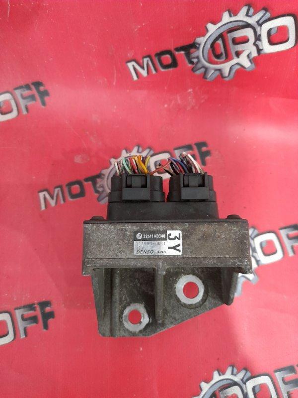 Блок управления впрыском топлива Subaru Forester SG5 EJ20 2002 (б/у)