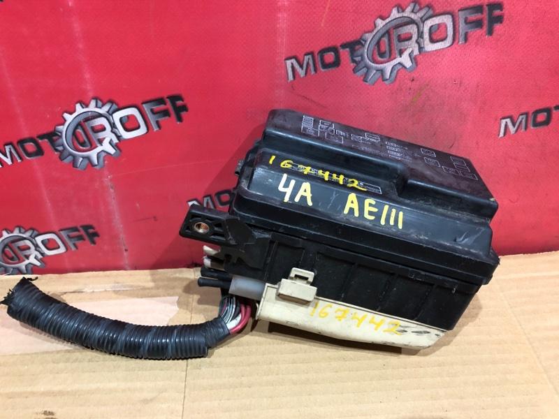 Блок реле и предохранителей Toyota Sprinter Carib AE111 5A-FE 1995 (б/у)