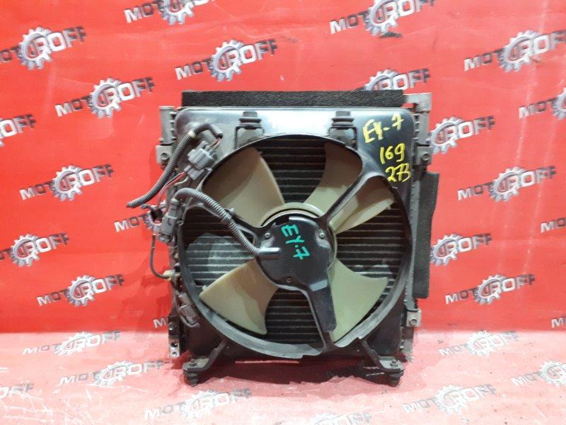 Радиатор кондиционера Honda Partner EY7 D15B 1996 (б/у)