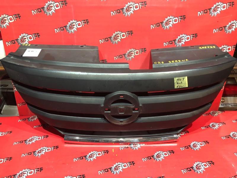 Решетка радиатора Nissan Serena C26 MR20DD 2010 (б/у)