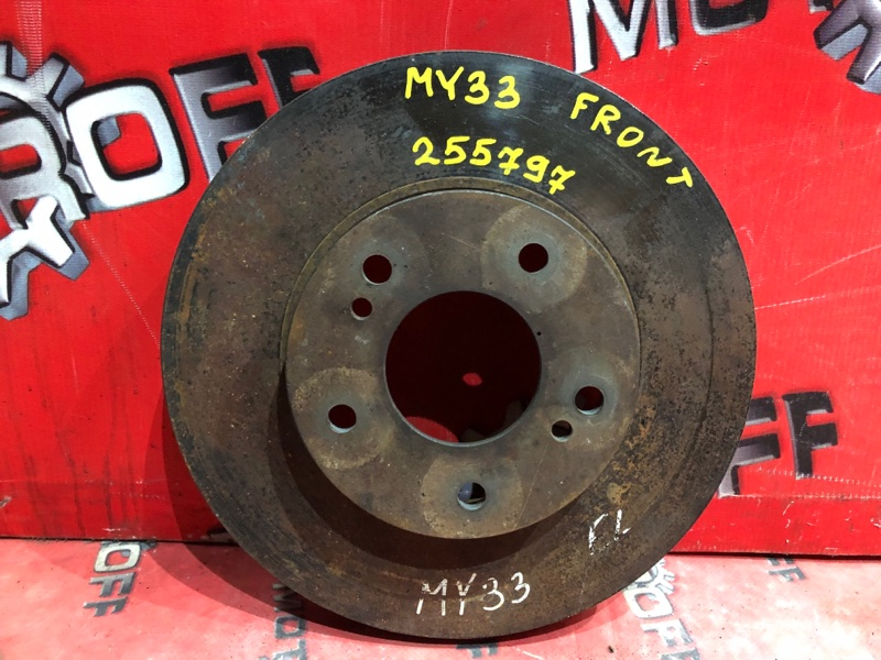 Диск тормозной Nissan Cedric MY33 VQ25DE 1995 передний (б/у)