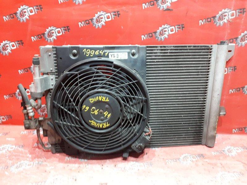 Радиатор кондиционера Subaru Traviq XM220 Z22SE 2001 (б/у)