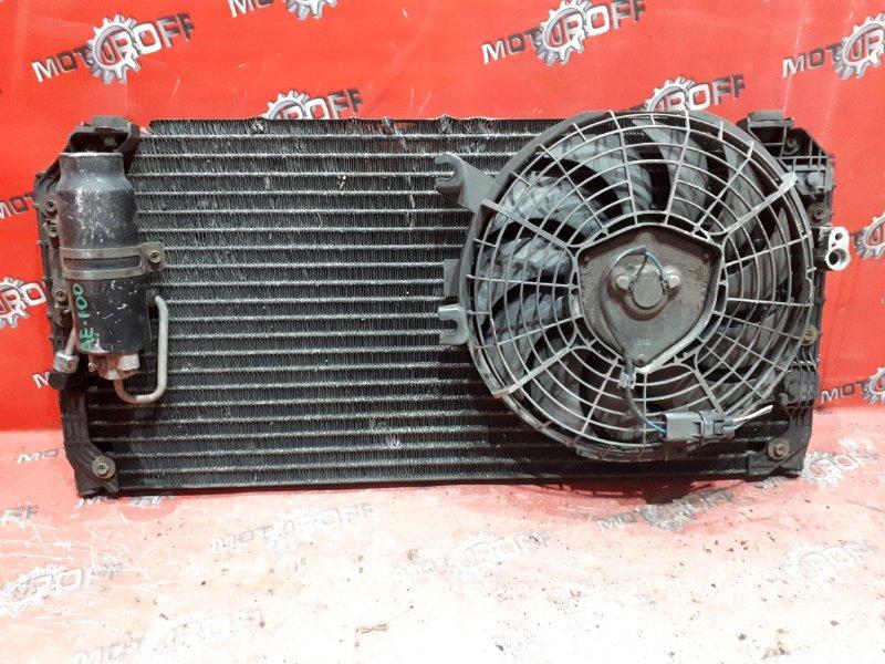 Радиатор кондиционера Toyota Corolla AE109V 5A-FE 1991 (б/у)