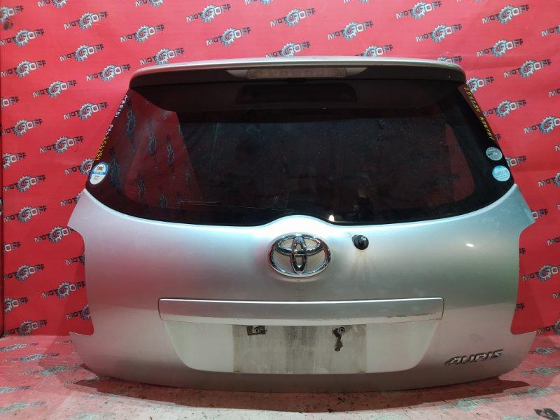 Дверь задняя багажника Toyota Auris NZE151H 1NZ-FE 2006 задняя (б/у)
