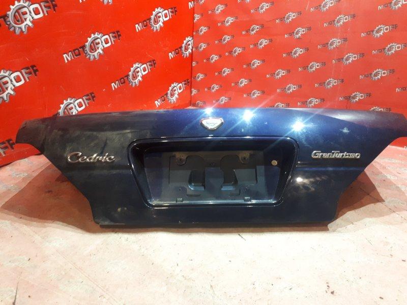 Крышка багажника Nissan Cedric PY33 VG30E 1995 задняя (б/у)