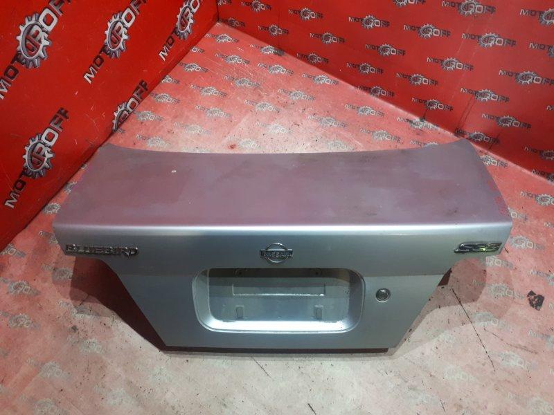 Крышка багажника Nissan Bluebird QU14 QG18DE 1996 задняя (б/у)