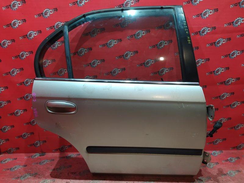Дверь боковая Honda Domani MB4 D16A 1997 задняя правая (б/у)