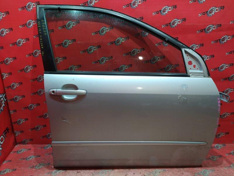 Дверь боковая Toyota Corolla Fielder NZE121G 1NZ-FE 2000 передняя правая (б/у)
