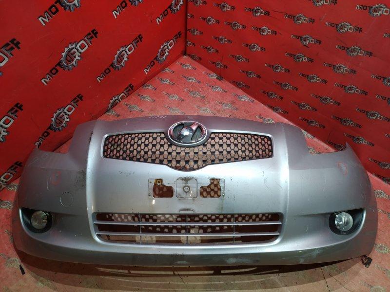 Бампер Toyota Vitz SCP90 2SZ-FE 2005 передний (б/у)