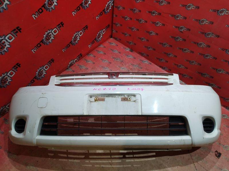 Бампер Toyota Raum NCZ20 1NZ-FE 2003 передний (б/у)