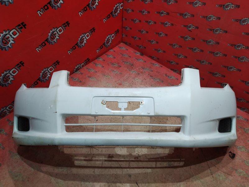 Бампер Toyota Corolla Fielder ZRE144G 2ZR-FE 2006 передний (б/у)