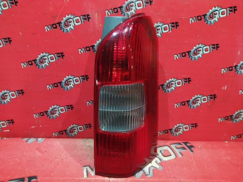 Фонарь (стоп-сигнал) Toyota Probox NCP55V 1NZ-FE 2002 задний правый (б/у)