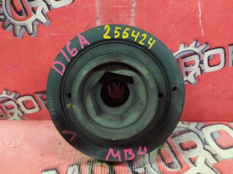 Шкив коленвала Honda Domani MB3 D16A 1997 (б/у)