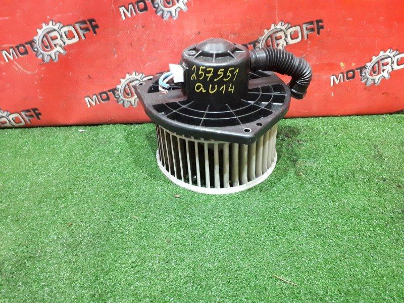 Вентилятор (мотор отопителя) Nissan Bluebird QU14 QG18DE 1996 (б/у)