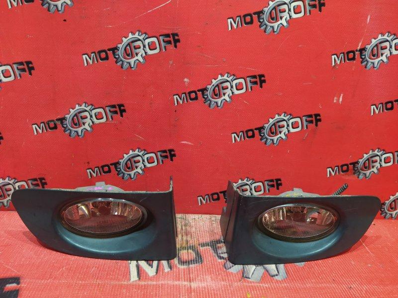 Фара противотуманная Honda Fit GD1 L13A 2001 передняя (б/у)