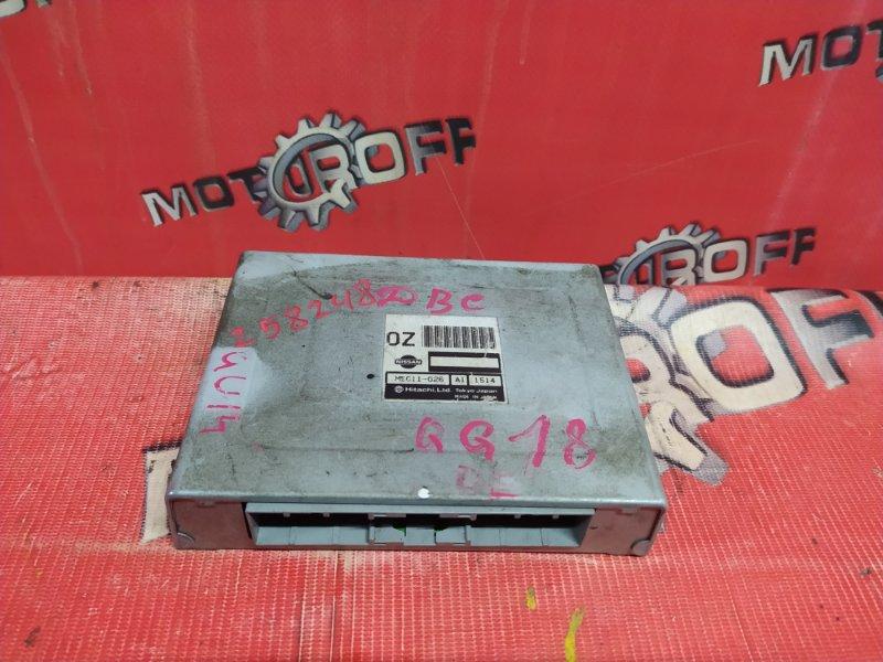 Компьютер (блок управления) Nissan Bluebird QU14 QG18DE 1996 (б/у)