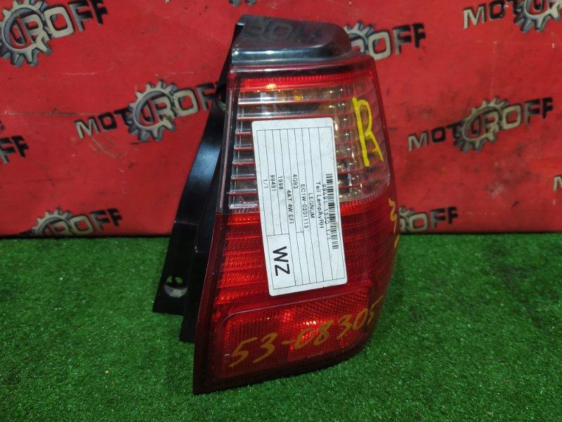 Фонарь (стоп-сигнал) Mitsubishi Legnum EA1W 4G64 1998 задний правый (б/у)