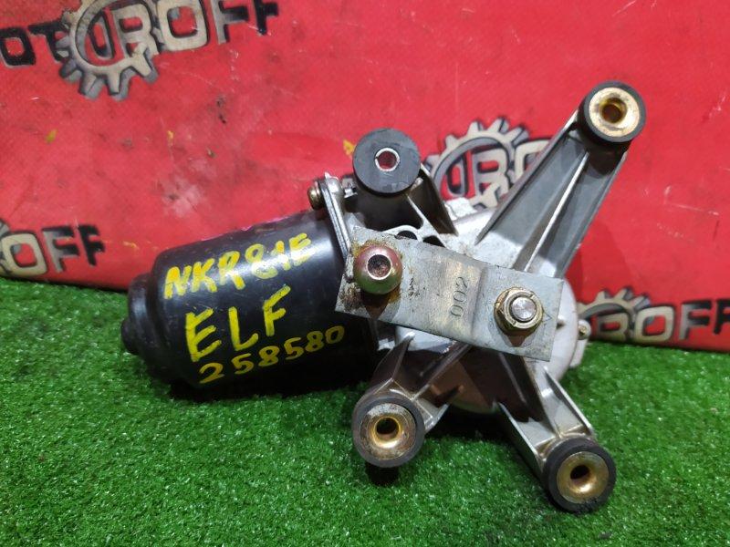 Привод (мотор) стеклоочистителей Isuzu Elf NKR81A 4HL1 2004 передний (б/у)