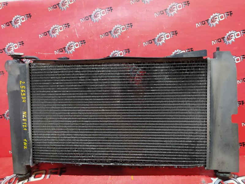 Радиатор двигателя Toyota Corolla NZE121 1NZ-FE 2000 (б/у)