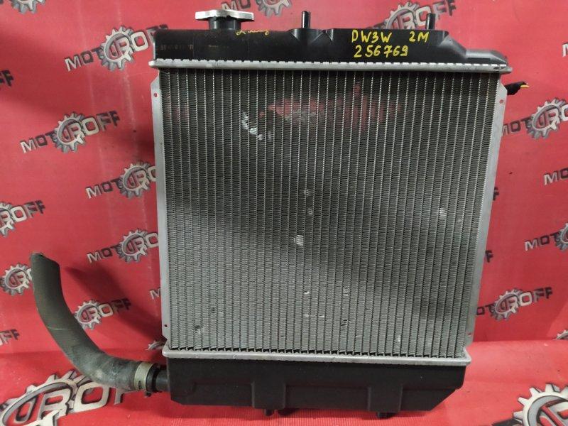 Радиатор двигателя Mazda Demio DW3W B3 1999 (б/у)