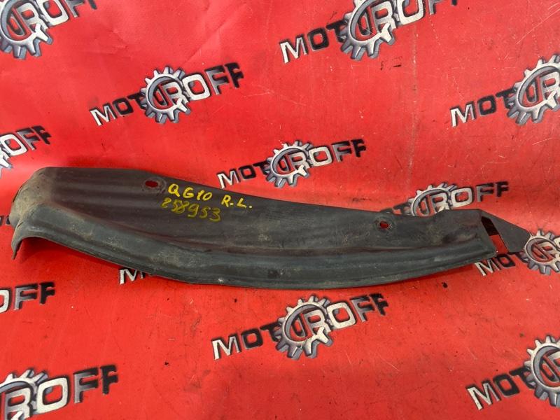 Подкрылок Nissan Bluebird Sylphy QG10 QG18DE 2003 задний левый (б/у)